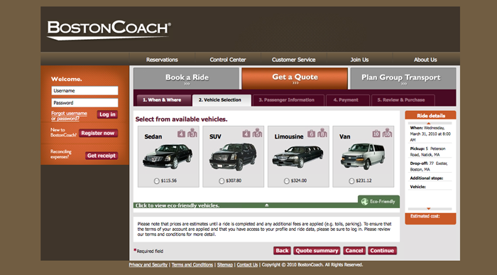 Boston Coach interior page 2
